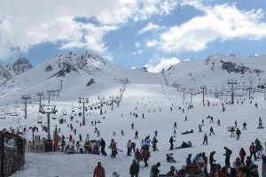 Skiing During School Holidays