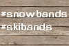 Pic of Snow and Ski-Related Bands